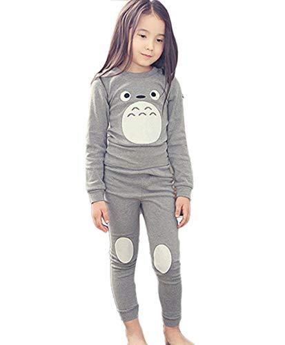 Conjunto de pijamas para niños y niñas Totoro 130 cm/6-7 a