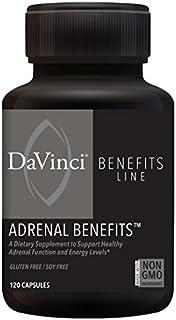 DaVinci Labs Adrenal Benefits, 120 Capsules