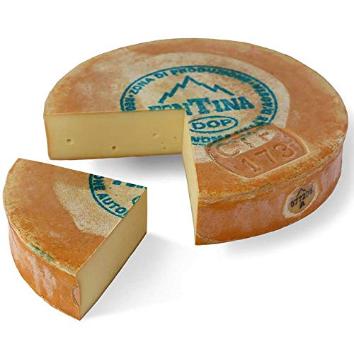 Fontina Valle d'Aosta ALPEGGIO DOP mezza forma 4,2 kg a peso variabile