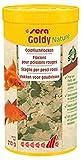 sera Goldy Nature das natürliche Fischfutter ohne Farb- & Konservierungsstoffe Flockenfutter bzw. Goldfischfutter für Goldfische im Aquarium & als Teichfutter