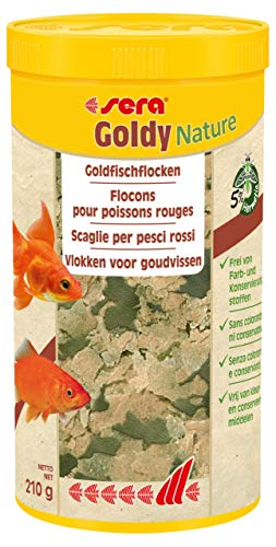 Sera Goldy Nature 1.000 ml 32249, Nature (ohne Farb- & Konservierungsstoffe), 1 Ltr.