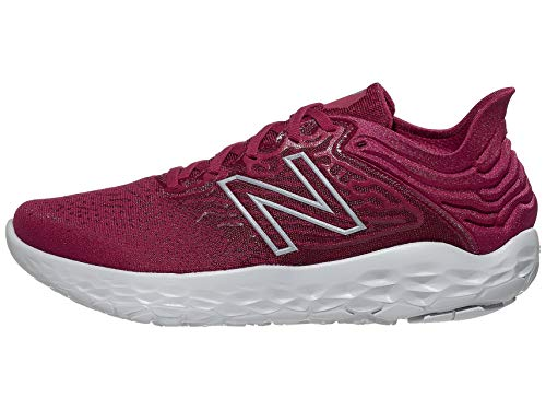 New Balance Men's Fresh Foam Beacon V3 Running Shoe, Neo Crimson/Neo Flame, 10.5