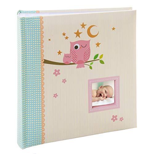 Kusso Sleepy Owl Series - Álbum de fotos infantil (200 fotos, 10 x 15 cm), para bebés y niños