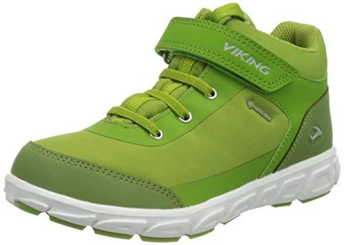 viking Spectrum R Mid GTX, Zapatillas para Caminar Unisex niños, Acid Green, 30 EU