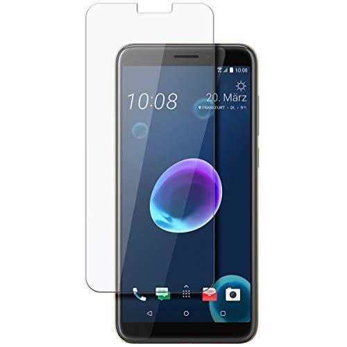 disGuard Schutzfolie für HTC Desire 12s [2 Stück] Entspiegelnde Bildschirmschutzfolie, MATT, Glasfolie, Panzerglas-Folie, Bildschirmschutz, Hoher Festigkeitgrad, Glasschutz, Anti-Reflex
