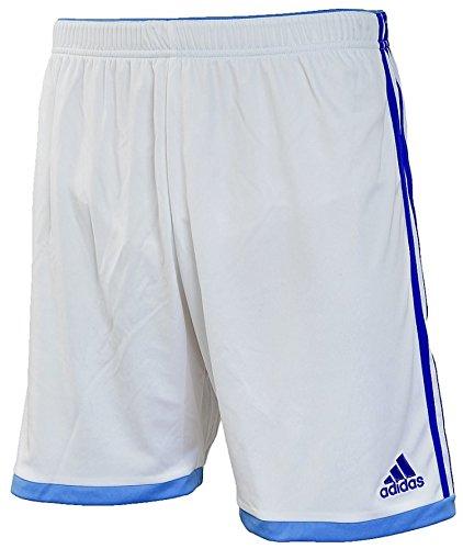 adidas Volzo15 SHTSWB - Pantaloncini da Uomo, Uomo, Bianco/Blu Marino, S
