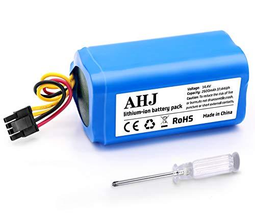 AHJ 14,4V 2600mAh Li-Ion Batería de Repuesto Compatible con Conga 1290, Conga 1390, Conga 1490 y Conga 1590 con Destornillador