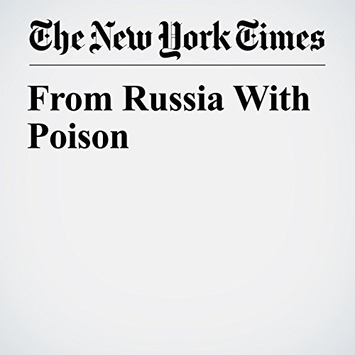 From Russia With Poison copertina
