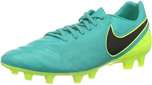 Nike Tiempo Legacy II Fg, Botas de Fútbol Hombre, Verde (Clear Jade / Black-Volt), 42