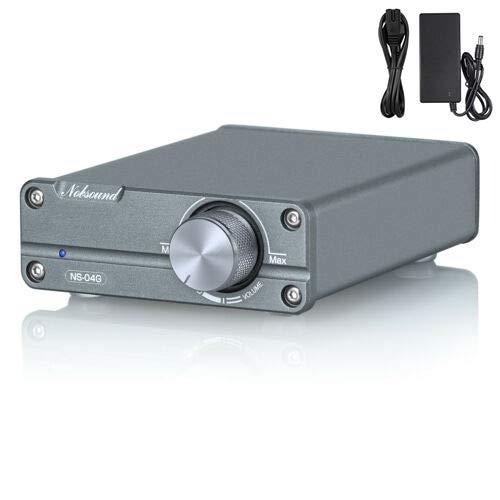 Nobsound, mini chassis TPA3116, amplificatore HiFi a 2.0 canali, stereo audio digitale, amplificatore HiFi, 50 W + 50 W (con alimentatore da 19 V).
