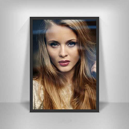 shuimanjinshan Zara Larsson Poster Schwedische Musiksängerin Star Wall Art Picture Poster und Drucke Leinwandmalerei für Room Home Decor 40x60cm Kein Rahmen P-391