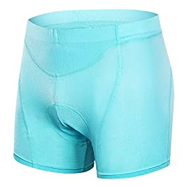 MUCUBAL Women's Cycling Underwear shorts 3D Padded MTB Bike Bicycle Undershorts