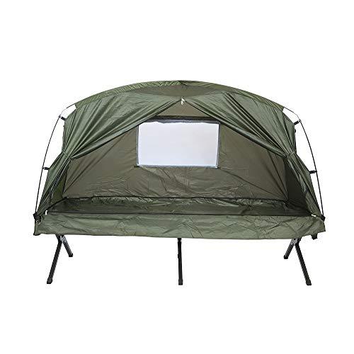 PN-Braes Carpas Artículos for Exteriores de una Sola Capa Doble Mano Tent 4-Persona Tienda de campaña Campo Tienda de campaña Tienda de la Playa de Viaje para Viajes al Aire Libre y Senderismo
