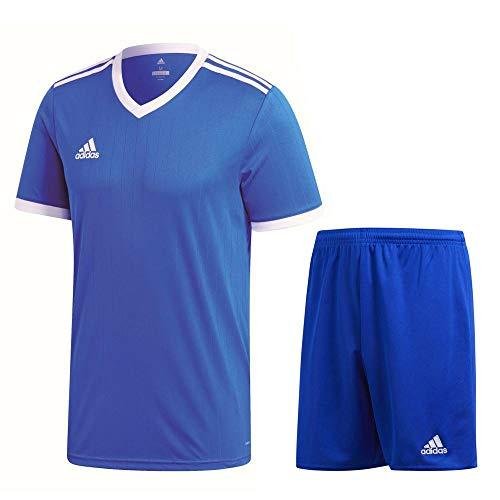 adidas Fußball Tabela 18 Trikotset Trikot Shorts Trainingsset Herren blau Gr XL