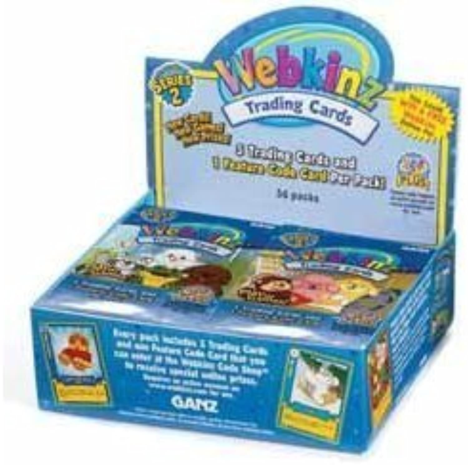 Webkinz Trading Cards Series 2 Sealed Box 36 Packs by Webkinz