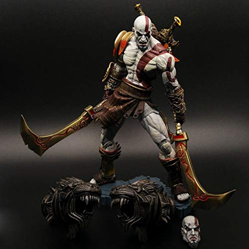 Hmy God of War Figuur Kratos pak Atcion Figuur voor PlayStation 4 Fans anime