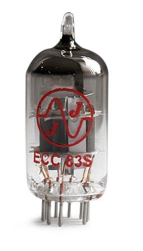 Music World JJ Electronic ECC83S/12AX7–Quartet Tubes