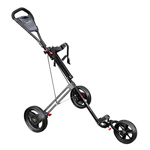 Masters Golf 3 Rad Push Trolley Farbe: Black