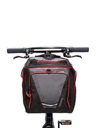 Mochila Frontal GOCYCLE G3 (Front Pannier). Incluye: correa para el hombro acolchada para mayor...