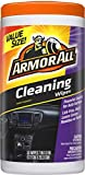 Armor All 10832 Car Interior Cleaner Wipes for Dirt & Dust 50 Count Cleaning