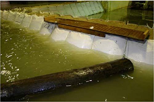 4' Ribs - Soil Filled Flood Barrier (4' Tall x 6' Wide x 50' Long)