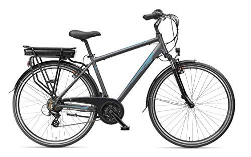 Zündapp E-Bike Herren – 28 Zoll Pedelec mit 21 Gang Shimano Kettenschaltung – 10,4 Ah / 36 V / 374,4 Wh – Green 4.7