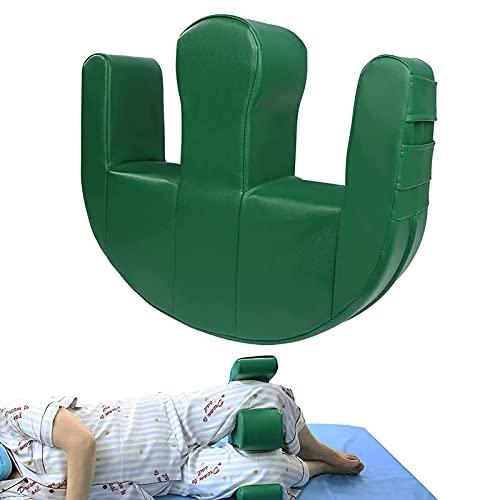 Reposo en cama Dispositivo giratorio para pacientes Dispositivo giratorio multifuncional Cuero de PU Anti-decúbito Almohadilla de transferencia impermeable Parálisis Reposo en cama Productos de enfe