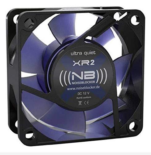 (((noiseblocker))) BlackSilentFan XR-2 - 60x60x25mm - 3Pin - 2200U/min - 15dbA - 24m3/h