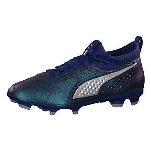 Puma ONE 3 LTH FG, Herren Fußballschuhe, Blau (Sodalite Blue-PUMA Silver-Peacoat 03), 45 EU (10.5 UK)