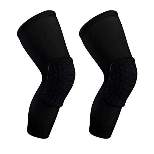 LMCLJJ La compresión de la rodilla Brace manga rodilla-Hombres y mujeres con Estabilizadores laterales y cojines del gel for la ayuda de la rodilla.Desgarro de menisco, la artritis, el alivio del dolo