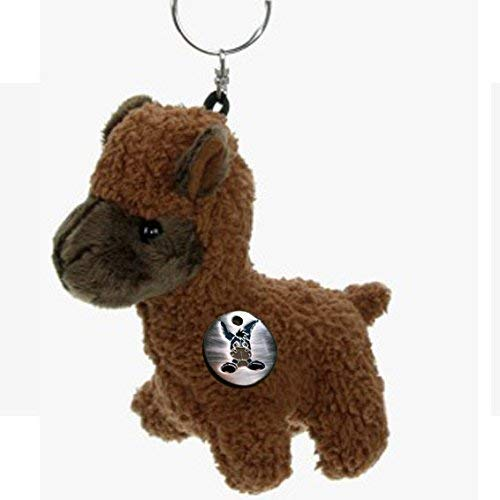 kuscheltiere. Biz lama marrone Tashi alpaca porte-clã –Giocattolo in Peluche