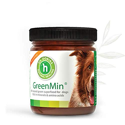 DR. DOBIAS GreenMin for Dogs - All Natural Mineral and Amino-Acid Rich superfood, up to 5 Months Supply