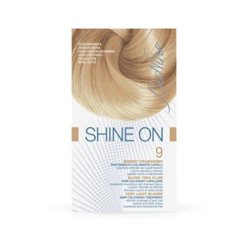 Bionike Trattamento Colorante Capelli Shine On (Tono Biondo Chiarissimo 9) - 125 ml.