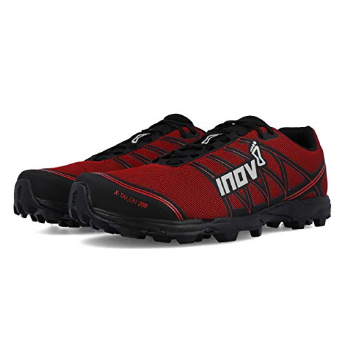 Inov-8 X-Talon 200 Red Obstacle and Trail Run Shoe Size : 36
