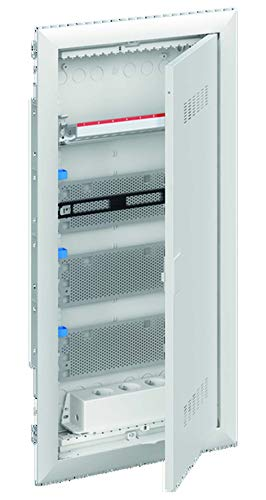 Striebel&John Mediaverteiler 4-reihig UK648MV m.PatchPanel+Tür Installationskleinverteiler 4011617313854