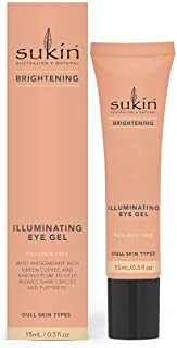 Sukin Sukin Brightening Illuminating Eye Gel 15ml, 15 milliliters