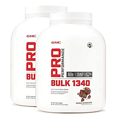 GNC Pro Performance Bulk 1340 - Double Chocolate - Twin Pack