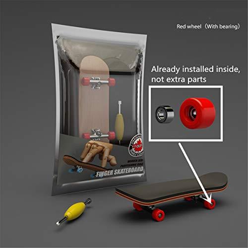 RG-FA Finger SkateBoard Diapasón de madera de juguete profesional Stents Finger Skate...