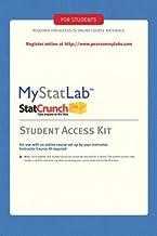 MyStatLab Student Access Kit: Including Statcrunch