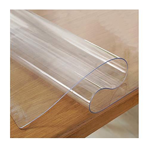GR5AS Bürostuhl Matte Holzböden Kratzfestes transparenten PVC-Multifunktionsboden-Matten geschnitten Werden können, 23 Größen (Color : 3mm, Size : 80x140cm)