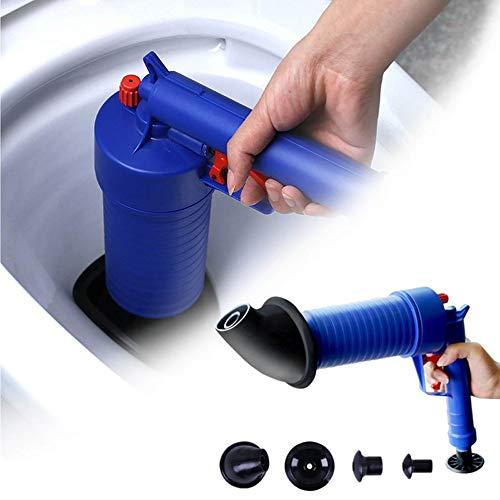 ZUEN Rohrbagger Air WC Bagger Hochdruck Pneumatikkolben Badablauf Reiniger Küchenwerkzeug