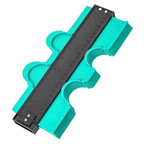 WOVELOT 25Cm Shape Profiler Replicator Herramienta de MedicióN de Perfiles Profile Replicator Plantilla de Perfil Plastic Plastic Replicator