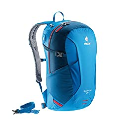 A blue Deuter brand backpack is a very good example of unique travel gift ideas for active people.