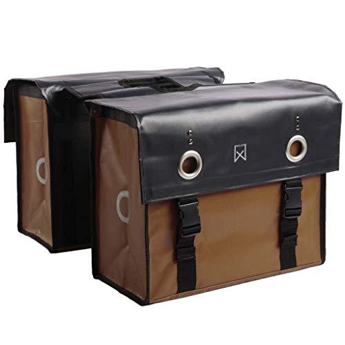 Willex Fahrradtasche Doppel 52L Gepäckträgertasche Packtasche Gepäcktasche