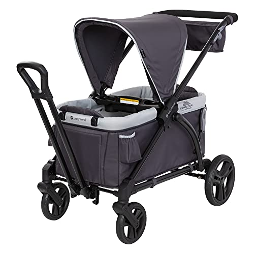 Baby Trend Expedition 2-in-1 Stroller Wagon, Liberty Midnight