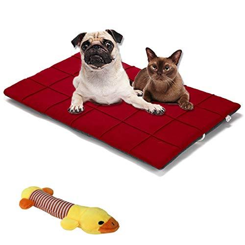 Hundematte Katzenbetten Waschbare Hundedecke Weich und bequem Hundekissen selbstheizendes Kissen Schlafplätze & Möbel für Hunde Doppelseitige Verwendung Geeignet für große / mittlere / kleine Hunde