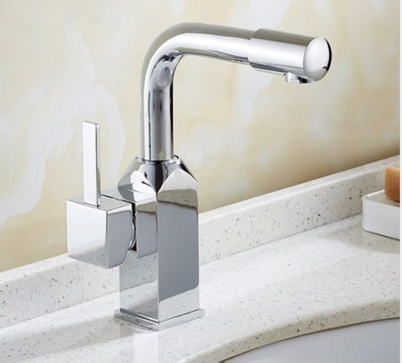 Diongrdk Basin Faucet Moderno Dise?o De Lavabo Cromado Ba?o Grifo Mezclador Cascada Grifos De Agua Caliente Y Fría para Lavabo De Ba?o