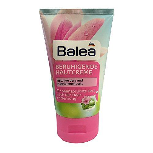 Balea Beruhigende Hautcreme mit Aloe Vera und Magnolienextrakt (125ml Tube)