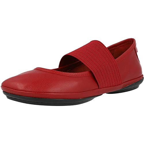 Camper Women's Right Nina 21595 Ballet Flat, Red 610, 38 EU/8 M US