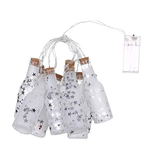 XIANBAO LED Christmas Tree Lights Strings, Star String Lights, Lantern Plug in Fairy String Lights Waterproof, Extendable for Wedding Party, Christmas Tree, New Year, Garden Decoration (A)